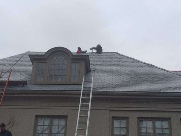 Slate Roofing Installation Rosedale Toronto